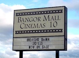 Bangor Mall Movie and Shopping @ Bangor Mall