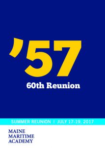Class of 1957 60th Reunion @ Maine Maritime Academy | Castine | Maine | United States