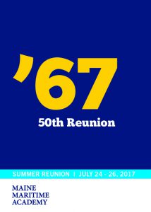 Class of 1967 50th Reunion @ Maine Maritime Academy | Castine | Maine | United States