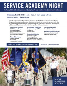 Service Academy Night @ Hilton Garden Inn | Bangor | Maine | United States