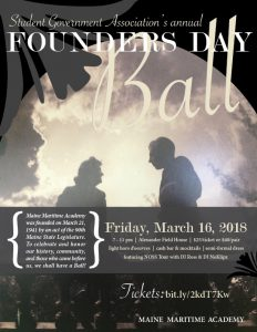 Founders Day Ball @ MMA Alexander Field House