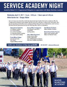 Service Academy Night @ Hilton Garden Inn   Bangor   Maine   United States