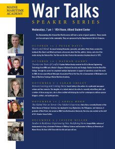 """""""War Talks"""" Lecture Series: The Global War on Terror - Adria Horn @ 1954 Room, Alfond Student Center"""
