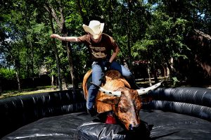 Mechanical Bull Contest @ Fieldhouse