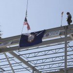 ABS Center Topping Off Beam 10 May 2014