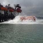 Free-fall lifeboat training