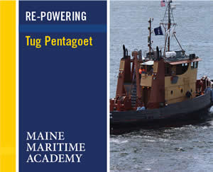 Re-Powering Tug Pentagoet Project