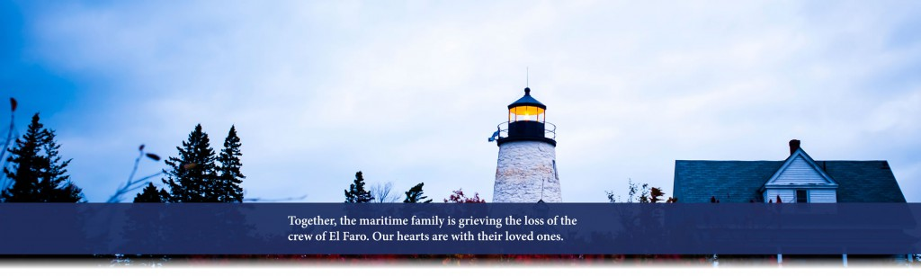 Thoughts with El Faro Crew and Families