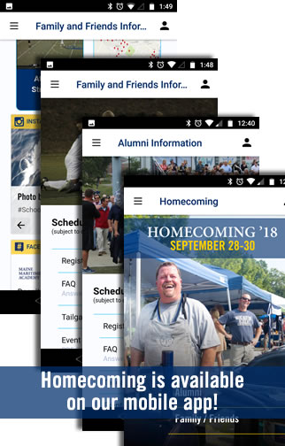 Homecoming available on mobile app