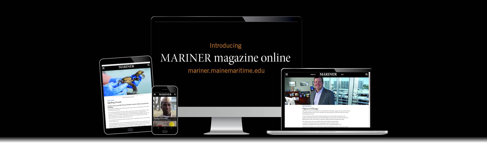 Mariner Magazine Online