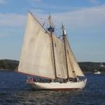 Schooner Bowdoin Sailing