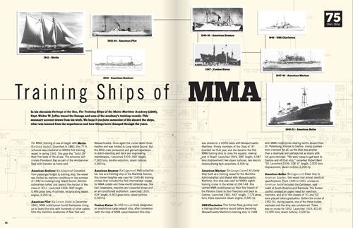 Mariner Magazine - Founders Day Spread