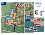 Maine Maritime Academy Parking Map