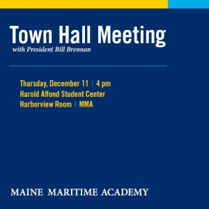 Town Hall Meeting About Mma Maine Maritime Academy