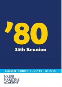 Class of 1980 Summer Reunion @ Maine Maritime Academy | Castine | Maine | United States
