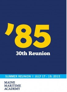 Class of 1985 Summer Reunion @ Maine Maritime Academy | Castine | Maine | United States
