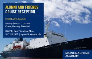 Alumni & Friends Cruise Reception - Portland @ Ocean Gateway Terminal | Portland | Maine | United States