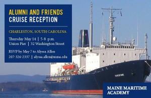 T.S. State of Maine Alumni and Friends Reception @ Union Pier | Charleston | South Carolina | United States
