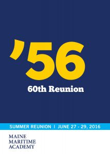 Class of 1956 60th Reunion @ Maine Maritime Academy | Castine | Maine | United States