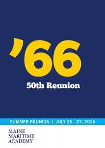 Class of 1966 - 50th Reunion @ Maine Maritime Academy | Castine | Maine | United States