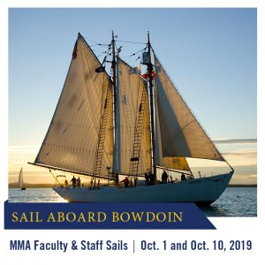 Bowdoin MMA Faculty & Staff Sail @ MMA Waterfront