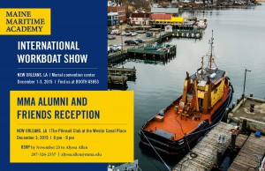 Alumni and Friends WorkBoat Show Reception @ The Plimsoll Club, Westin Canal Place | New Orleans | Louisiana | United States