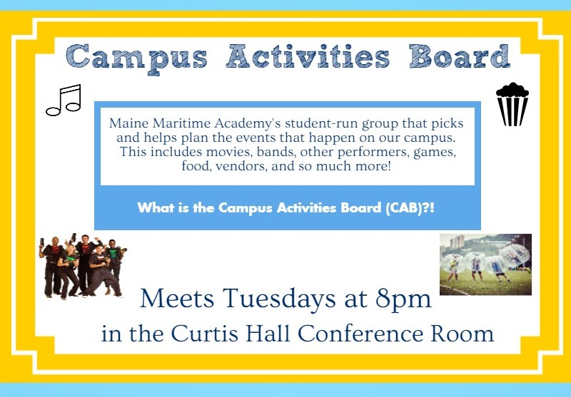 Campus Activities Board Meeting @ Curtis 134