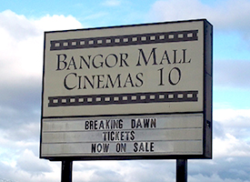 Bangor Mall Movie and Shopping @ Bangor Mall