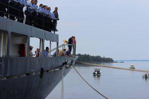 Ship Jump @ Maine Maritime Academy