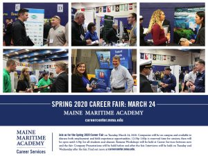 Spring Career Fair @ MMA Fieldhouse
