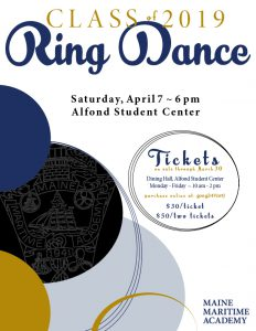 Class of 2019 Ring Dance @ Alfond Student Center