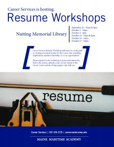 Career Services: Resume Workshop @ Library