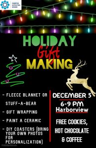 Holiday Gift Making @ Harborview