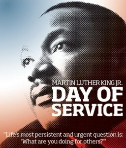 MLK Day Celebration @ Curtis Hall Front Desk
