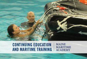 STCW Personal Survival Techniques (Ocean Survival) @ Maine Maritime Academy
