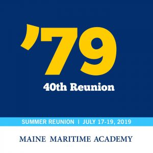 Class of 1979 40th Reunion @ Maine Maritime Academy