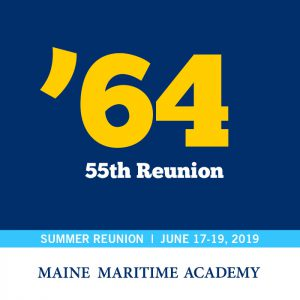 Class of 1964 55th Reunion @ Maine Maritime Academy | Castine | Maine | United States