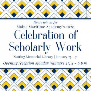 Celebration of Scholarly Work @ Nutting Memorial Library