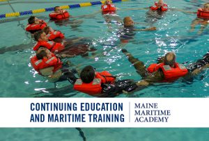 STCW Personal Safety Techniques (Ocean Survival) @ Maine Maritime Academy