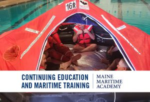 Basic Training Revalidation @ Day 1: Maine Maritime Academy's Smith Alexander Gym.