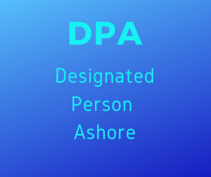 Designated Person Ashore, DPA @ MMA Bucksport Campus