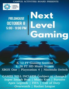 Next Level Gaming @ Alexander Field House