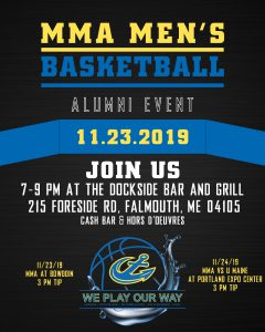 MMA Men's Basketball Alumni Event @ The Dockside Bar and Grill
