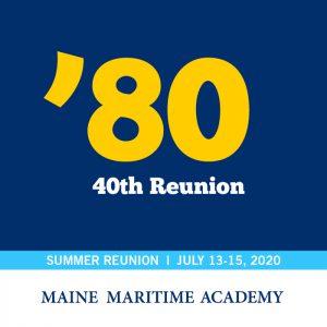 Class of 1980's 40th Reunion @ Maine Maritime Academy