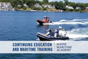 Fast Rescue Boat @ Maine Maritime Acaademy