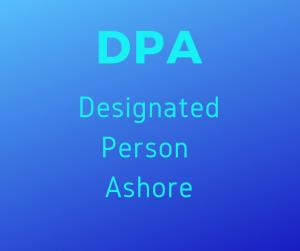 Designated Person Ashore, DPA @ MMA Bucksport Campus