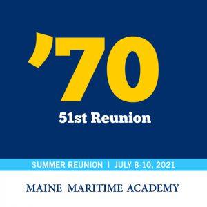 Class of 1970 51st Reunion @ Maine Maritime Academy