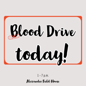 Campus Blood Drive