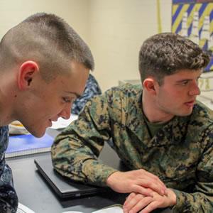 NROTC Students