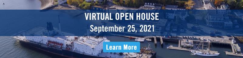Open House September 25, 2021 more information